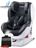 Autosedačka Caretero  Defender Plus Isofix black 2017