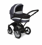 Kombinovaný kočárek Coto Baby Messina 2015 2v1 grey/black