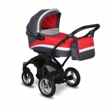 Kombinovaný kočárek Coto Baby Messina 2015 2v1 red/grey